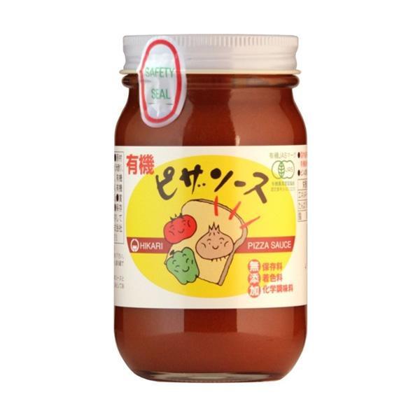【代引不可】光食品 有機JAS認定 有機ピザソース 225g×(12本×2)「他の商品と同梱不可/北海道、沖縄、離島別途送料」