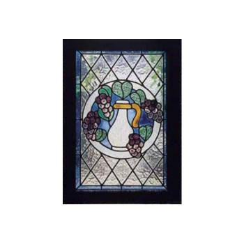 【代引不可】ステンドグラス ブドウ 87002「他の商品と同梱不可/北海道、沖縄、離島別途送料」