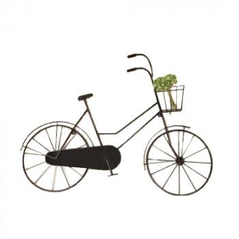 【代引不可】ブリキウォール自転車L型 40603「他の商品と同梱不可/北海道、沖縄、離島別途送料」