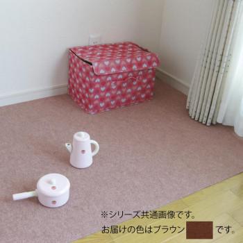 吸着マット 吸着 ぴたマット ループ (91×15M)ブラウン・LPR-312S-15「他の商品と同梱不可/北海道、沖縄、離島別途送料」
