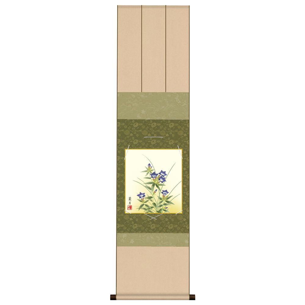 色紙掛・色紙セット 吉井蘭月 「桔梗」 KA2KIC-002 31×125cm「他の商品と同梱不可/北海道、沖縄、離島別途送料」