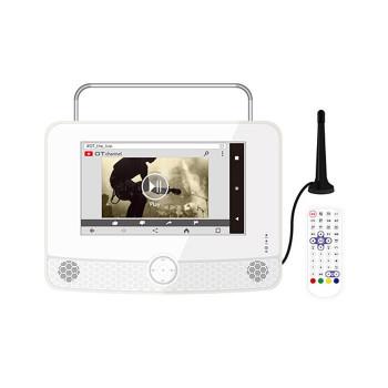 OVERTIME 9インチ液晶防水ポータブルテレビ(ミラーリング機能付) OT-WPT90AK「他の商品と同梱不可/北海道、沖縄、離島別途送料」