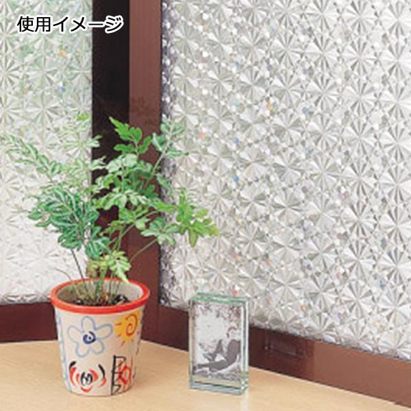 窓飾りシート(レンズタイプ) 92cm幅×15m巻 C(クリアー) GCR-9206「他の商品と同梱不可/北海道、沖縄、離島別途送料」