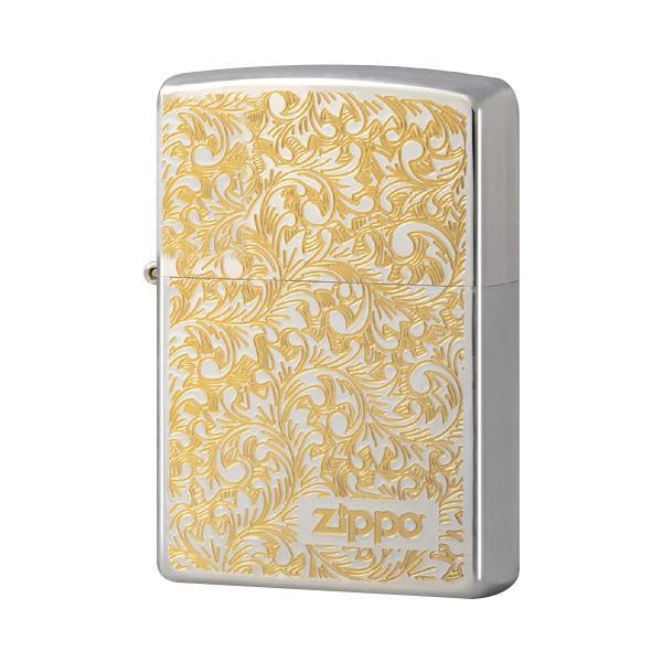 ZIPPO フローラル G&S 2-23a (♯200) 70557「他の商品と同梱不可/北海道、沖縄、離島別途送料」
