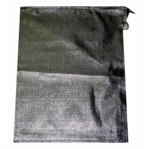 【代引不可】萩原工業 UVブラック土のう 48cm×62cm 200袋セット「他の商品と同梱不可/北海道、沖縄、離島別途送料」