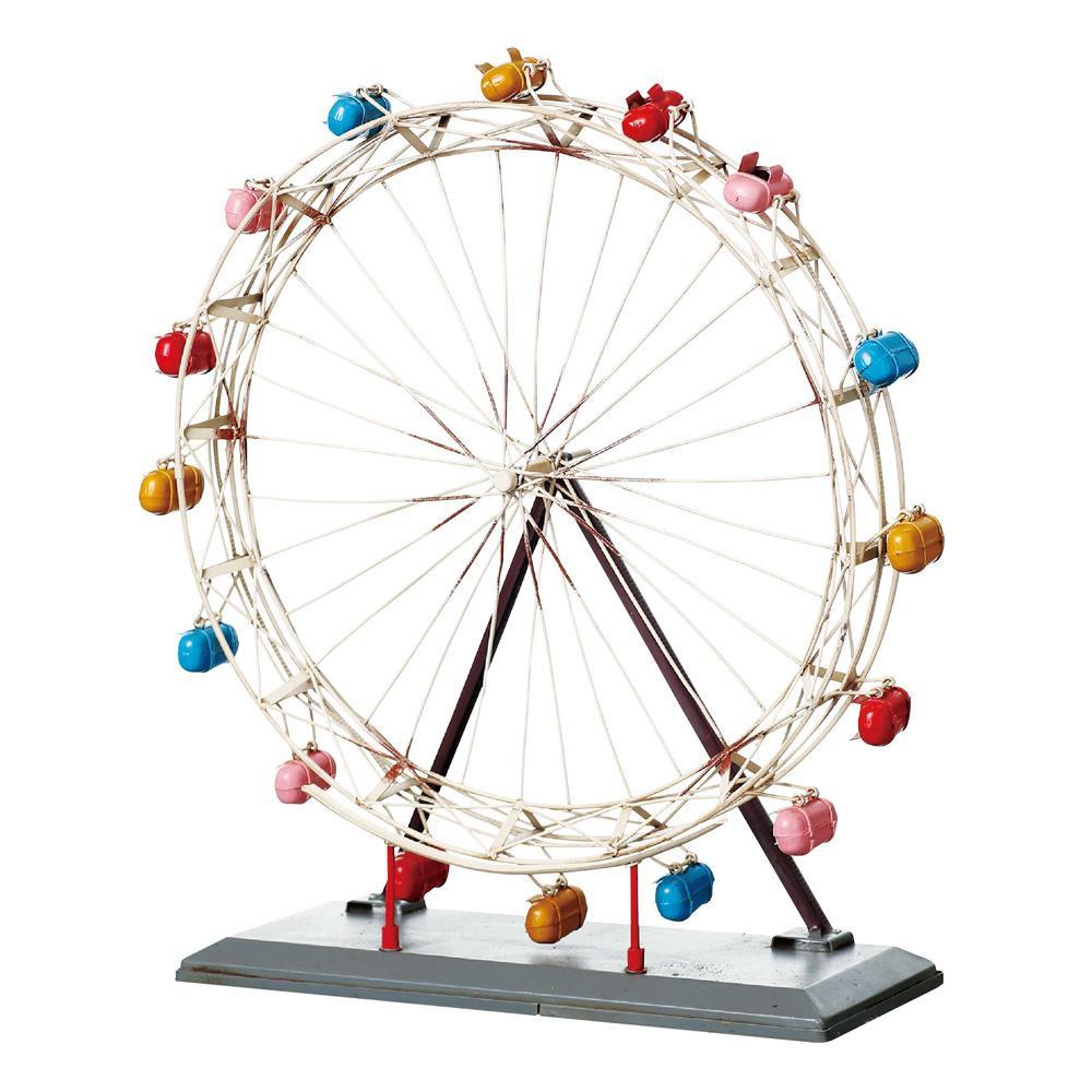 ブリキのおもちゃ(ferriswheel) 27624「他の商品と同梱不可/北海道、沖縄、離島別途送料」