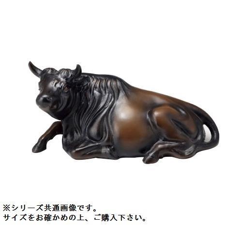高岡銅器 和風置物 座牛 16号 153-04「他の商品と同梱不可/北海道、沖縄、離島別途送料」