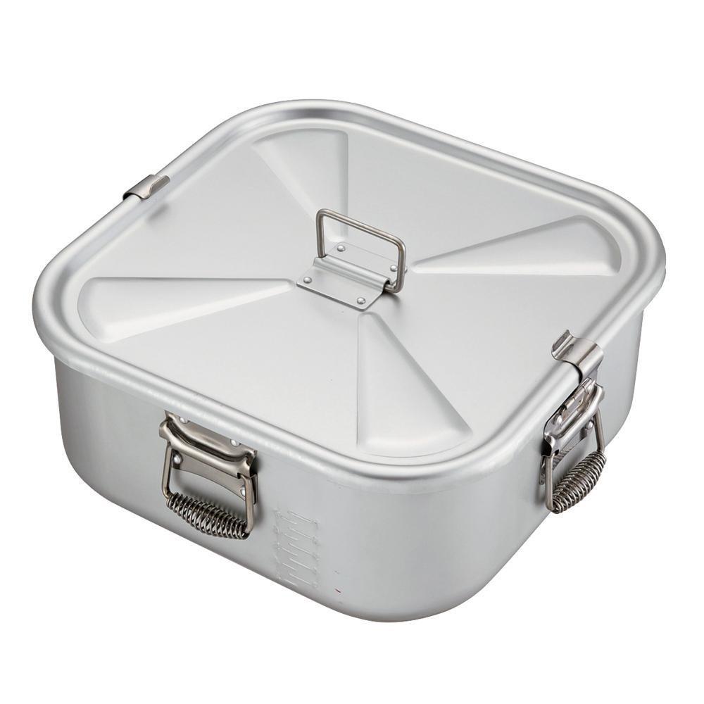 N-81 ガス用炊飯鍋 アルマイト加工 9L(5升用) 5101909「他の商品と同梱不可/北海道、沖縄、離島別途送料」