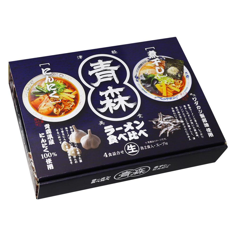 【代引不可】青森ラーメン食べ比べ 4食 18セット RM-158「他の商品と同梱不可/北海道、沖縄、離島別途送料」