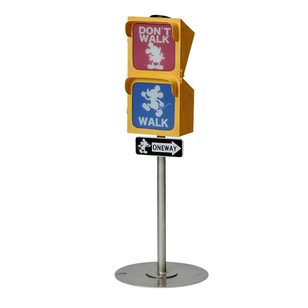 セトクラフト 信号ソーラーライト(ヴィンテージミッキー) SD-6145-2200「他の商品と同梱不可/北海道、沖縄、離島別途送料」