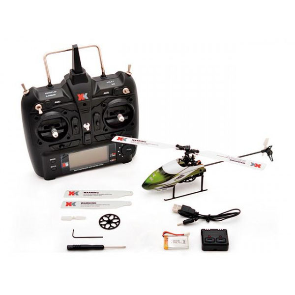 ハイテック XK製品 6CH 3D6Gシステムヘリコプター RCヘリ K100 RTFキット「他の商品と同梱不可/北海道、沖縄、離島別途送料」