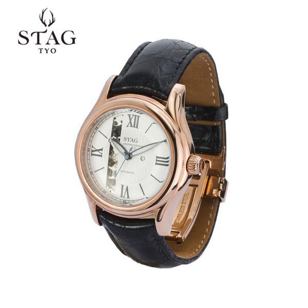 STAG TYO 腕時計 STG003P2「他の商品と同梱不可/北海道、沖縄、離島別途送料」