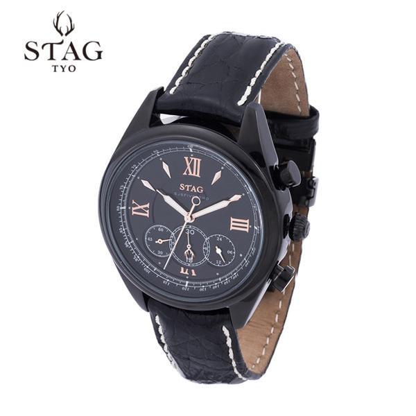 STAG TYO 腕時計 STG004B1「他の商品と同梱不可/北海道、沖縄、離島別途送料」