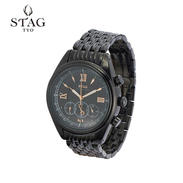 STAG TYO 腕時計 STG008B1「他の商品と同梱不可/北海道、沖縄、離島別途送料」