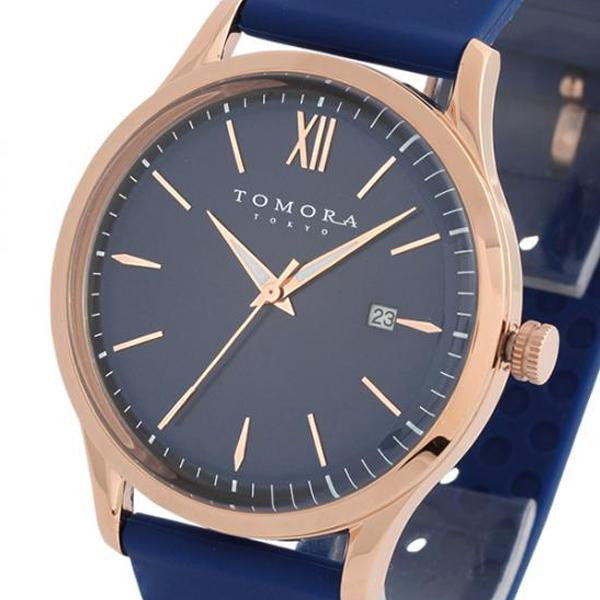 TOMORA TOKYO(トモラ トウキョウ) 腕時計 T-1605-PBL「他の商品と同梱不可/北海道、沖縄、離島別途送料」