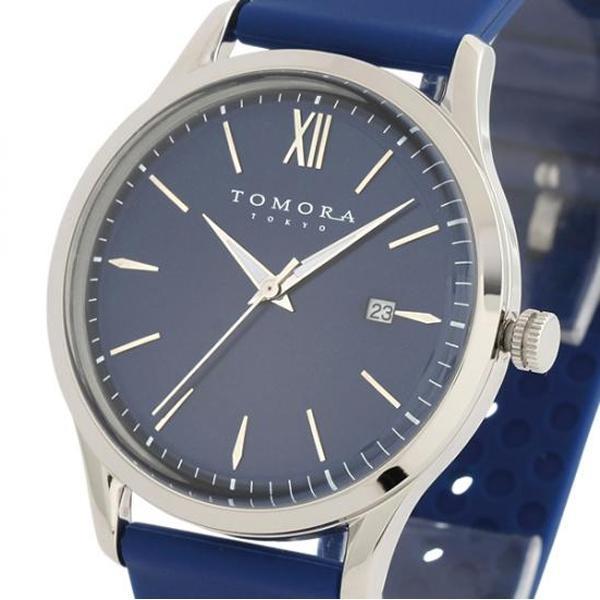 TOMORA TOKYO(トモラ トウキョウ) 腕時計 T-1605-SBL「他の商品と同梱不可/北海道、沖縄、離島別途送料」
