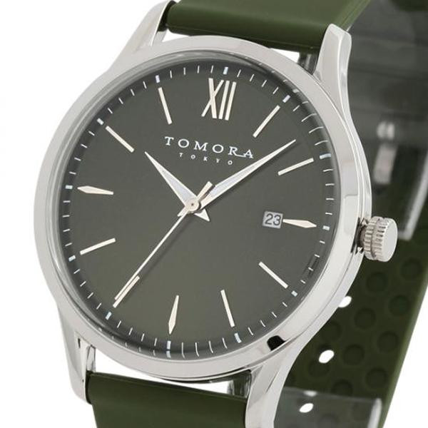 TOMORA TOKYO(トモラ トウキョウ) 腕時計 T-1605-SGR「他の商品と同梱不可/北海道、沖縄、離島別途送料」