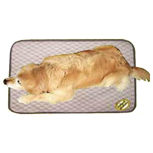 ペット用品 ディスメル 介護用消臭マット LLサイズ 140×140cm ベージュ OK423「他の商品と同梱不可」