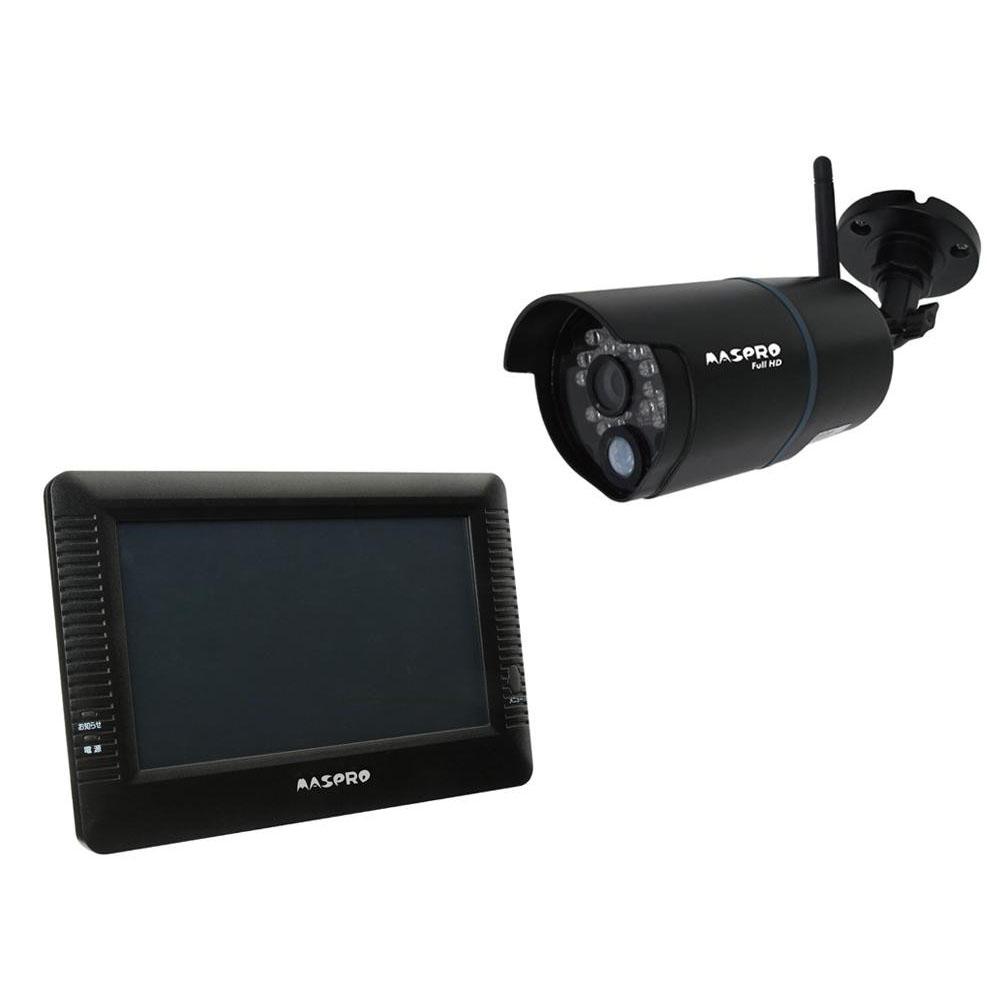 マスプロ電工 7インチモニター&ワイヤレスフルHDカメラセット WHC7M2「他の商品と同梱不可/北海道、沖縄、離島別途送料」