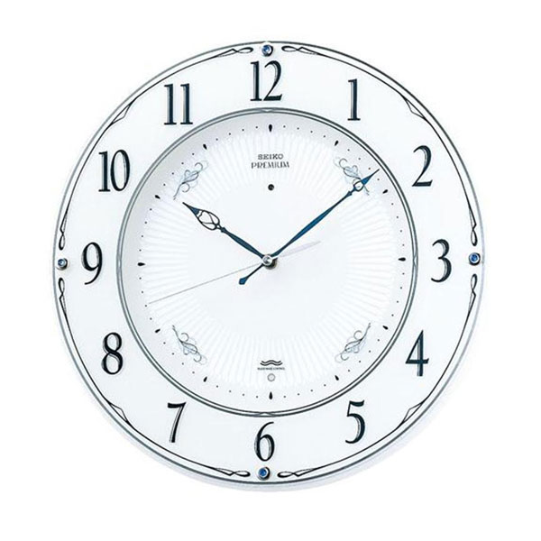 SEIKO セイコークロック 電波クロック 掛時計 スタンダード LS230W「他の商品と同梱不可/北海道、沖縄、離島別途送料」