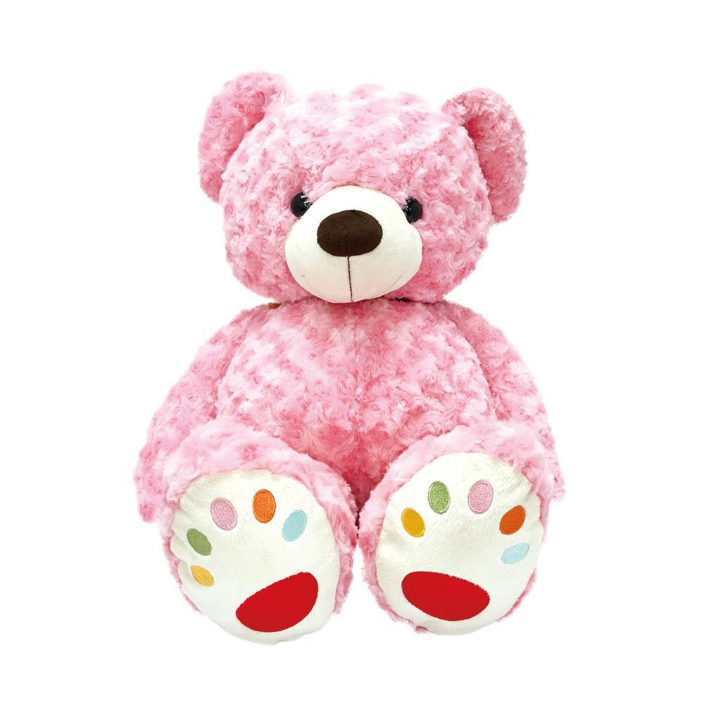 仔熊のラルク ぬいぐるみ L ピンク「他の商品と同梱不可/北海道、沖縄、離島別途送料」
