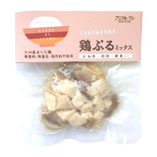 【代引不可】そのまんま 鶏ぷるミックス 30g×80入 P51-105「他の商品と同梱不可/北海道、沖縄、離島別途送料」