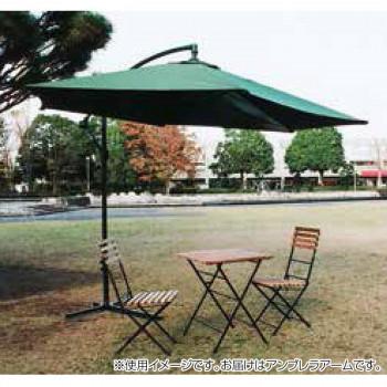 【代引不可】アンブレラアーム1型 グリーン 13065「他の商品と同梱不可/北海道、沖縄、離島別途送料」