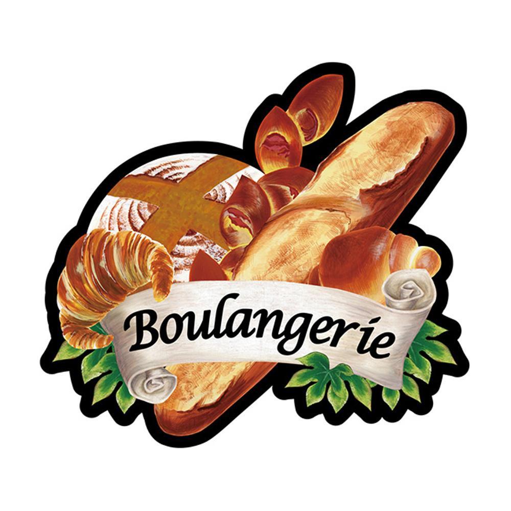 Pデコパネ(デコレーションパネル) 23640 Boulangerie パン各種「他の商品と同梱不可/北海道、沖縄、離島別途送料」