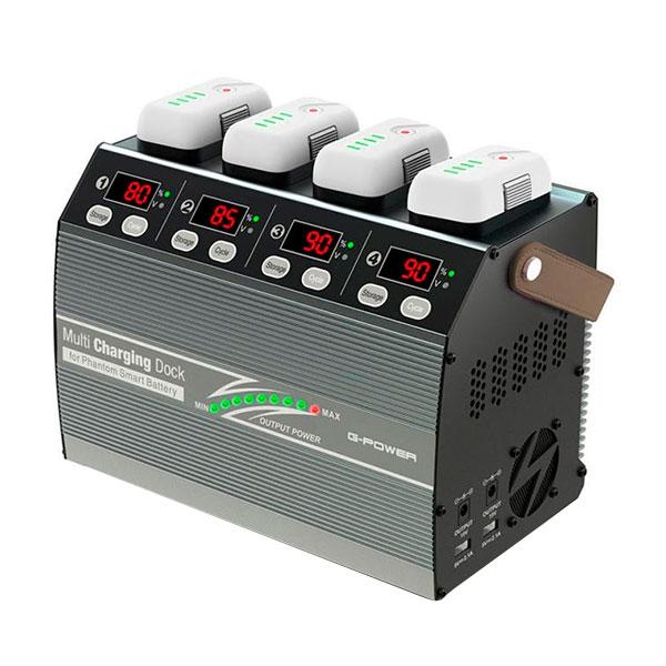G-FORCE ジーフォース G-Power Multi Charging Dock for Phantom Smart Battery 充電器(Phantom3/4用) G0241「他の商品と同梱不可/北海道、沖縄、離島別途送料」