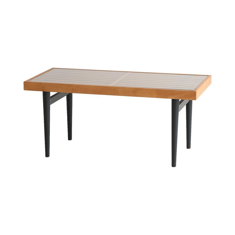 【代引不可】Grate Table ローテーブル T-3204LBR「他の商品と同梱不可/北海道、沖縄、離島別途送料」