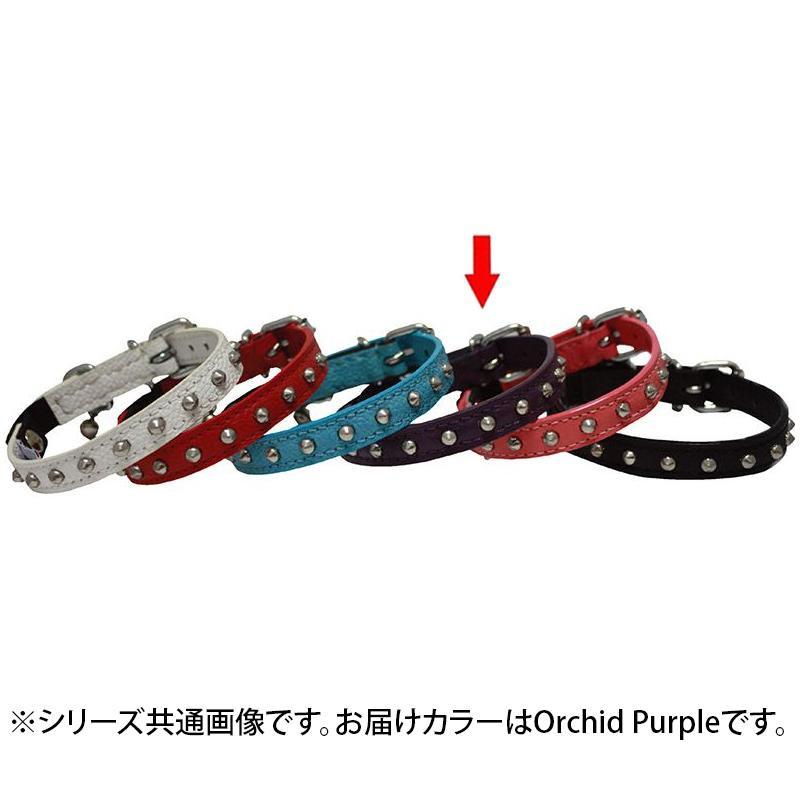 Angel Studded Cat Collar 猫用首輪 Orchid Purple 21925「他の商品と同梱不可/北海道、沖縄、離島別途送料」