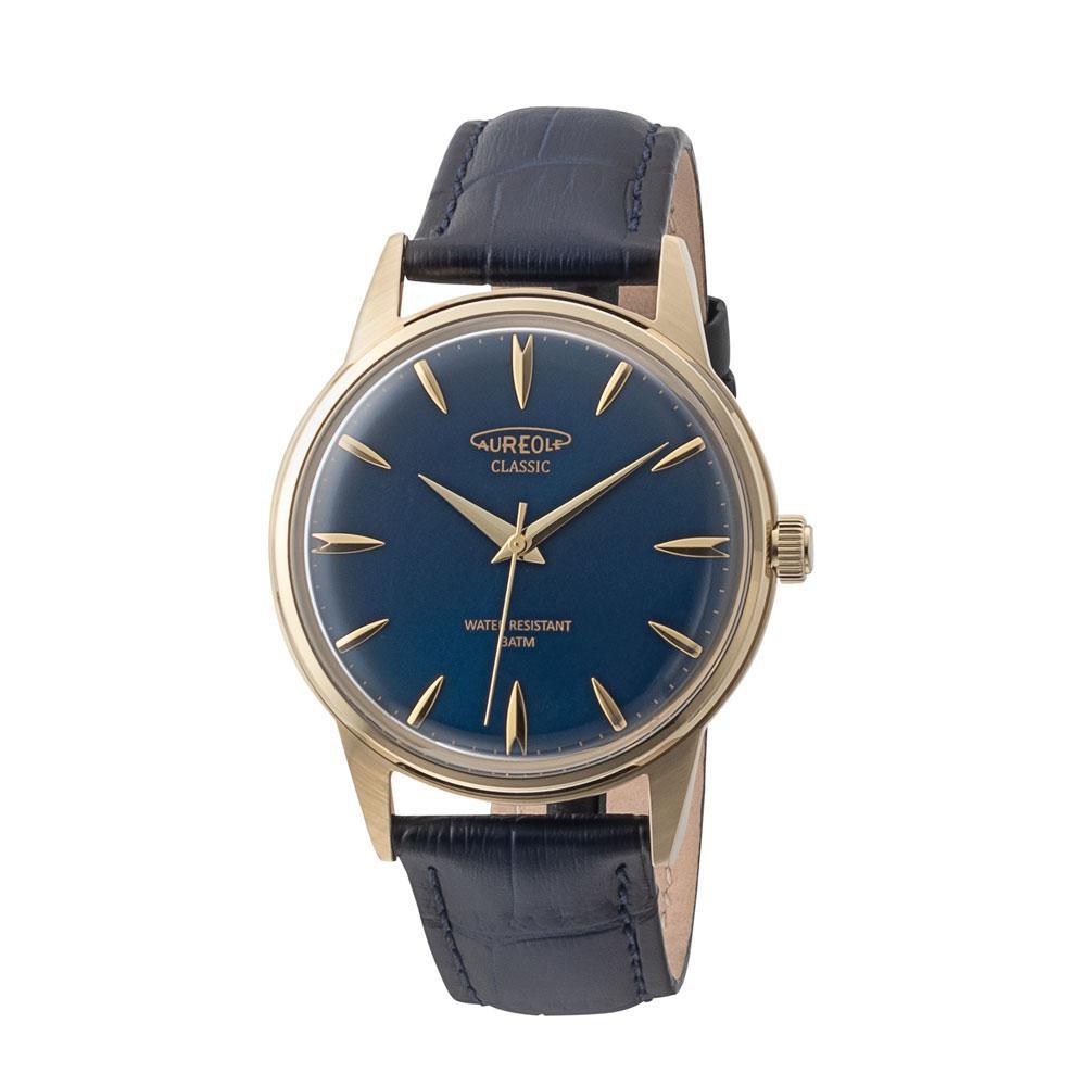AUREOLE(オレオール) ドレス メンズ 腕時計 SW-618M-04「他の商品と同梱不可/北海道、沖縄、離島別途送料」