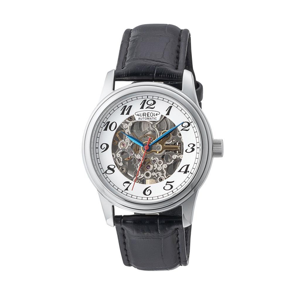 AUREOLE(オレオール) オートマチック メンズ 腕時計 SW-614M-03「他の商品と同梱不可/北海道、沖縄、離島別途送料」