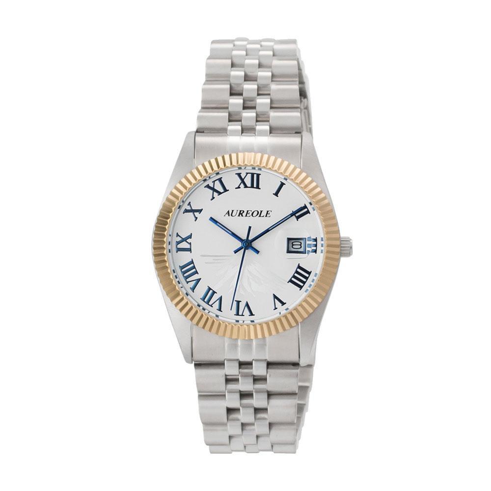 AUREOLE(オレオール) 日本製 メンズ 腕時計 SW-592M-E「他の商品と同梱不可/北海道、沖縄、離島別途送料」
