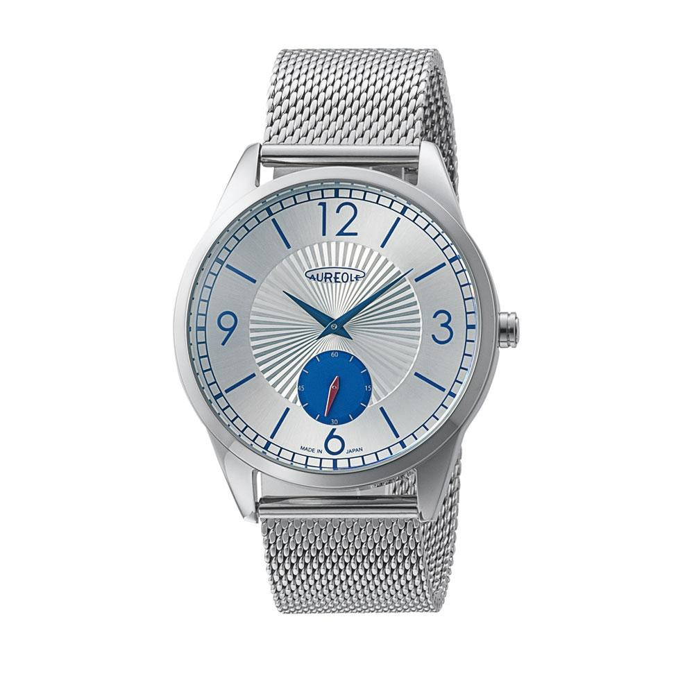 AUREOLE(オレオール) 日本製 メンズ 腕時計 SW-615M-C「他の商品と同梱不可/北海道、沖縄、離島別途送料」