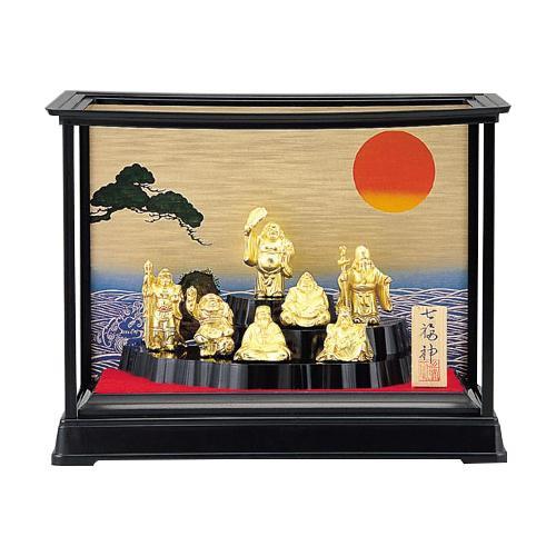 高岡銅器 和風置物 七福神  155-02「他の商品と同梱不可/北海道、沖縄、離島別途送料」