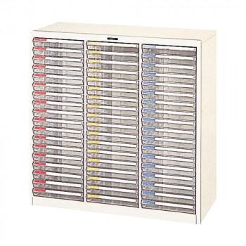 【代引不可】ナカバヤシ フロアーケース B4 880×411×880 3列 B4-54P「他の商品と同梱不可/北海道、沖縄、離島別途送料」