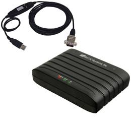 ☆ラトックシステム RS-232C 56K DATA/14.4K FAX MODEM(USB変換ケーブル付) REX-C56EX-U