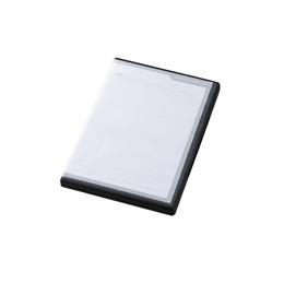 <沖縄/離島別途送料>メーカー欠品完売時はご容赦下さい ☆エレコム SDカードケース トールケースタイプ SD36枚収納 インデックスカード インデックスジャケット ナンバリングシール ブラック CMC-SDCDC01BK