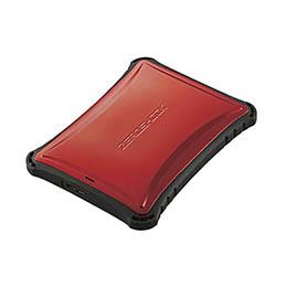 沖縄 離島別途送料 メーカー欠品完売時はご容赦下さい ☆エレコム 外付けSSD ポータブル ハイクオリティ USB3.2 500GB ESD-ZSA0500GRD 対応 ZEROSHOCK レッド Gen1 ラッピング無料