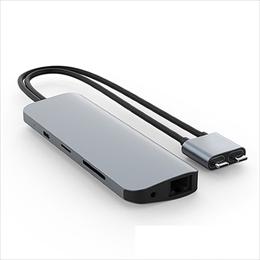 <沖縄/離島別途送料>メーカー欠品完売時はご容赦下さい ☆HYPER HyperDrive VIPER 10-in-2 USB-C ハブ HP-HD392GR