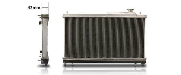 BLITZ ブリッツ レーシングラジエーター TypeZS code18859 スバル インプレッサ 92/11-00/08 GC8 EJ20 Turbo専用