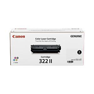◇純正品 キヤノン(Canon) トナーカートリッジ ブラック 型番:カートリッジ322II(B) 単位:1個※他の商品と同梱不可