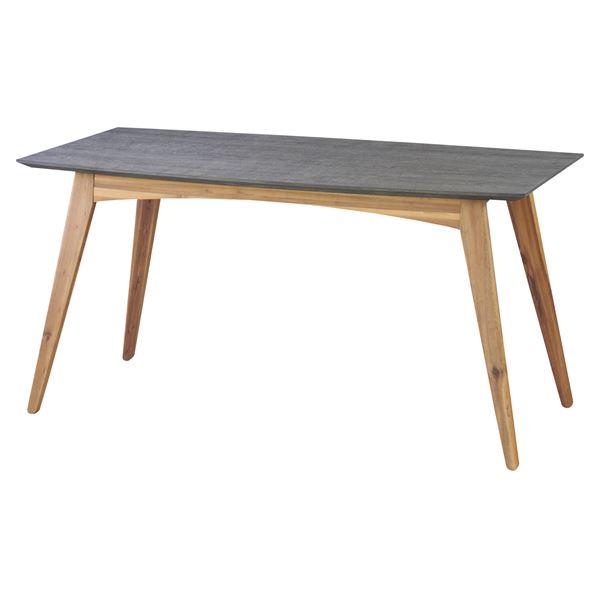 ◇ダイニングテーブル 【Nix】ニックス 木製(天然木) 4人掛けサイズ 北欧 VET-402T※他の商品と同梱不可