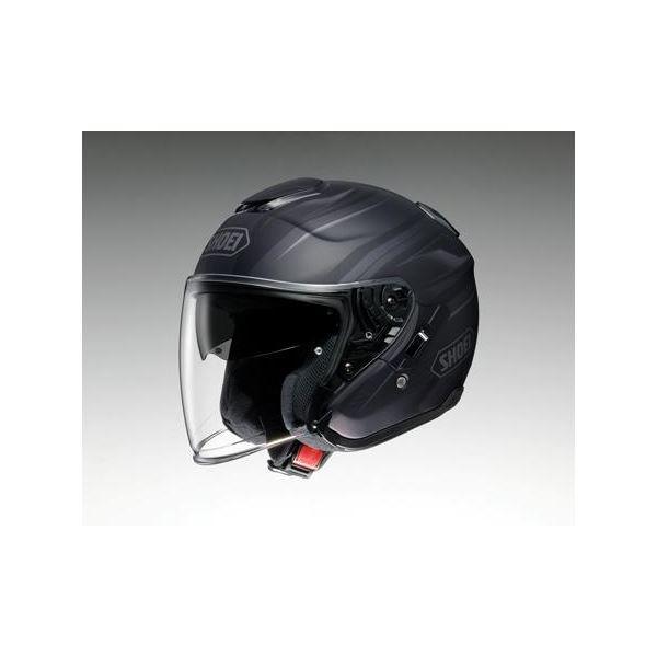 ◇ショウエイ(SHOEI) ヘルメット J-CRUISE PASSE TC-5 ブラック/シルバー M※他の商品と同梱不可