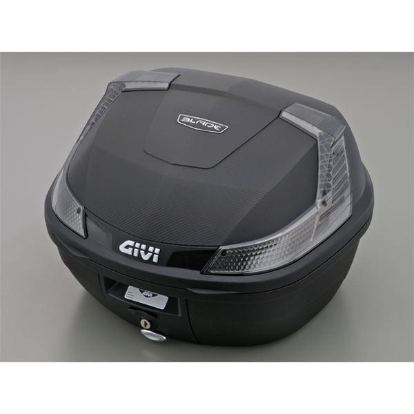 ◇【DAYTONA/デイトナ】GIVI(ジビ) B37NTD TECH 無塗装 黒 ※他の商品と同梱不可