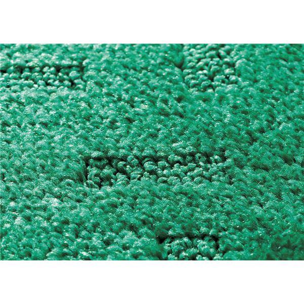 ◇玄関マット 室内/屋内用 TJ-918 グリーン※他の商品と同梱不可