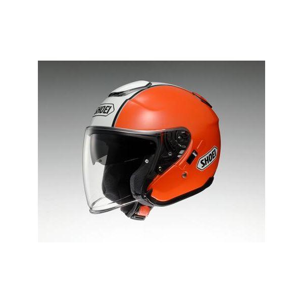 ◇ショウエイ(SHOEI) ヘルメット J-CRUISE CORSO TC-8 オレンジ/ホワイト M※他の商品と同梱不可