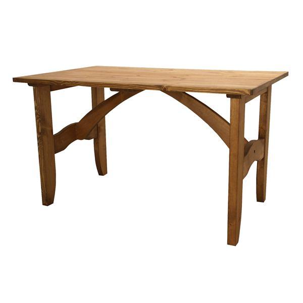 ◇ダイニングテーブル 長方形 木製(パイン材/オイル仕上) CFS-512※他の商品と同梱不可