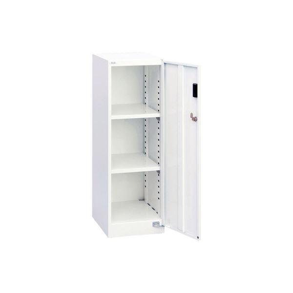 ◇ナカバヤシ セキュリティフロアケース スチール 棚板タイプ 白 AF-ST2※他の商品と同梱不可